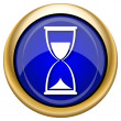 Hourglass icon — Stockfoto #33339311