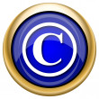 Copyright icon — Stockfoto #33339351