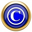 Copyright icon — Foto Stock #33339351
