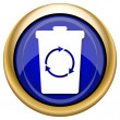 Recycle bin icon — Foto de stock #33339365