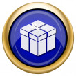 Gift icon — Stock fotografie #33339391