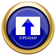 Upload icon — Stock fotografie #33339415