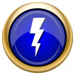 Stock Photo: Lightning icon