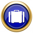 Suitcase icon — Stock fotografie #33339529