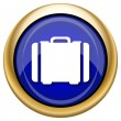 Suitcase icon — Stockfoto #33339529