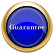 Guarantee icon — Stock Photo