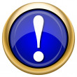 Stockfoto: Attention icon