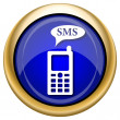 SMS icon — Stock fotografie #33339791