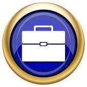 Evrak çantası'nın simgesi — Stok fotoğraf