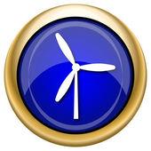 Icono de molino de viento — Foto de Stock