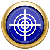 Target icon — Stock Photo