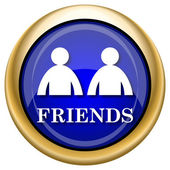 Friends icon — 图库照片