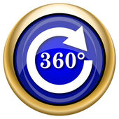 Reload 360 icon — Stock Photo