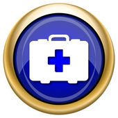 Medical bag icon — Stok fotoğraf