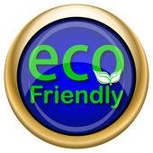 Eco amichevole icona — Foto Stock