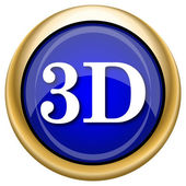 3D icon — Stock fotografie