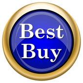 лучшая покупка значок — Стоковое фото