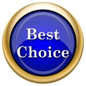 Mejor icono de elección — Foto de Stock
