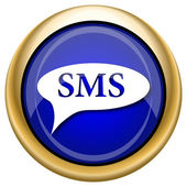 Pictogram sms zeepbel — Stockfoto