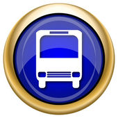Bus icon — Stock fotografie
