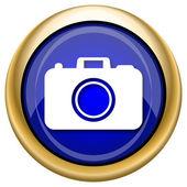 Photo camera icon — Stock Photo