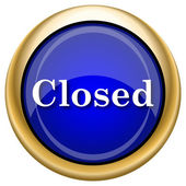Closed icon — Foto Stock
