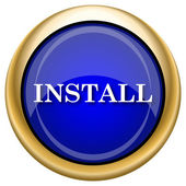 Install icon — Stock Photo