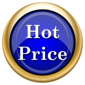 Hot price icon — Stock Photo