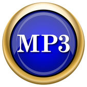 MP3 icon — Stock fotografie