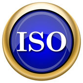 ISO icon — Foto Stock