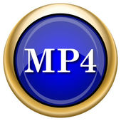 MP4 icon — Stockfoto