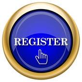 Register icon — Foto de Stock