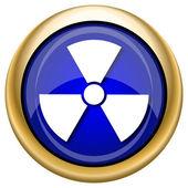 Radyasyon simgesi — Stok fotoğraf