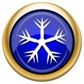Snowflake icon — Стоковое фото