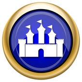 城堡图标 — 图库照片