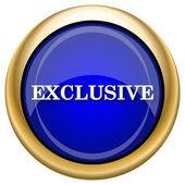 Exclusive icon — Стоковое фото