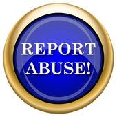 Icône de l'abus de rapport — Photo