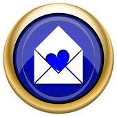 Senden Liebe Symbol — Stockfoto