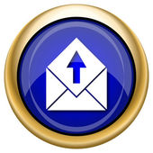 Send e-mail icon — Stock fotografie