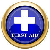 First aid icon — Foto Stock