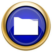 Folder icon — Stock Photo