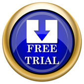 Free trial icon — Stockfoto