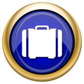 Suitcase icon — Стоковое фото