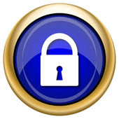Lock icon — Stock Photo