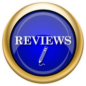 Reviews icon — Stockfoto