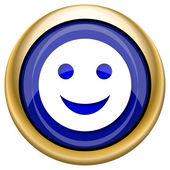 Smiley icon — Stock Photo