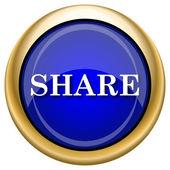 共享图标 — 图库照片