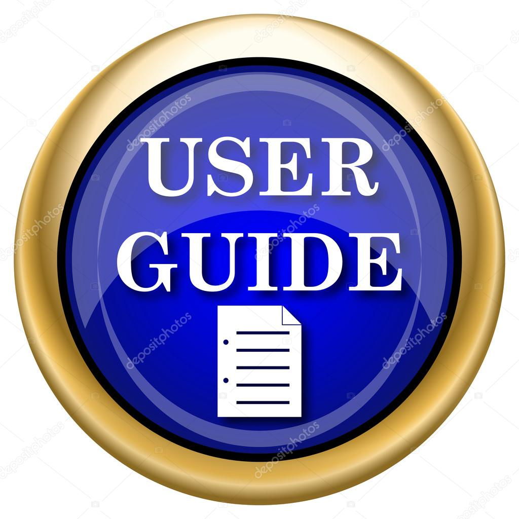 User Guide Icon  U2014 Stock Photo  U00a9 Valentint  33338541