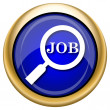 Search for job icon — 图库照片