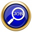Search for job icon — Stockfoto